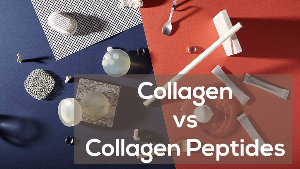 collagen vs collagen peptide